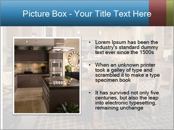 The interior of the dining room PowerPoint Template - Slide 13