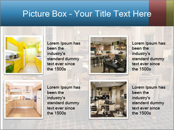 The interior of the dining room PowerPoint Template - Slide 14
