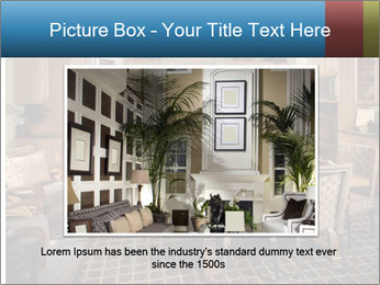 The interior of the dining room PowerPoint Template - Slide 15