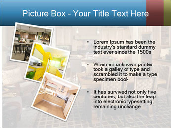 The interior of the dining room PowerPoint Template - Slide 17