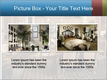 The interior of the dining room PowerPoint Template - Slide 18