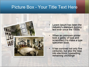 The interior of the dining room PowerPoint Template - Slide 20