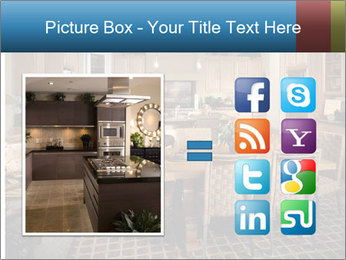 The interior of the dining room PowerPoint Template - Slide 21