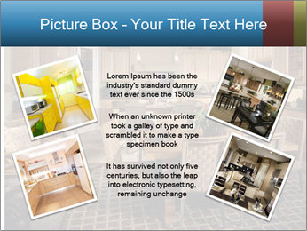 The interior of the dining room PowerPoint Template - Slide 24