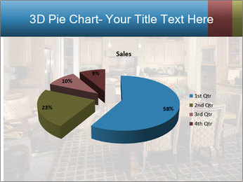 The interior of the dining room PowerPoint Template - Slide 35