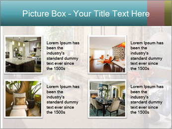 Beautiful interior PowerPoint Template - Slide 14
