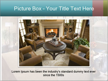Beautiful interior PowerPoint Template - Slide 15