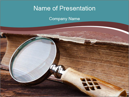 Wisdom and knowledge PowerPoint Template