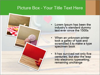 The cup is on the books PowerPoint Template - Slide 17