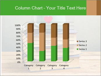 The cup is on the books PowerPoint Template - Slide 50