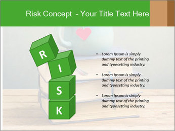 The cup is on the books PowerPoint Template - Slide 81