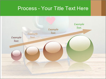 The cup is on the books PowerPoint Template - Slide 87