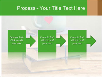 The cup is on the books PowerPoint Template - Slide 88
