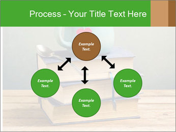 The cup is on the books PowerPoint Template - Slide 91