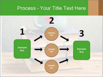 The cup is on the books PowerPoint Template - Slide 92