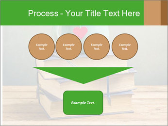 The cup is on the books PowerPoint Template - Slide 93
