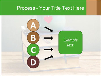 The cup is on the books PowerPoint Template - Slide 94