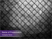 Metal grid PowerPoint Template