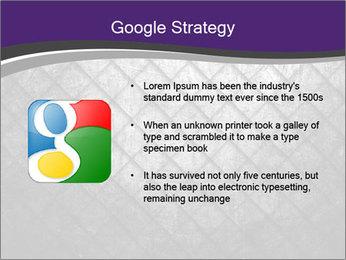 Metal grid PowerPoint Template - Slide 10