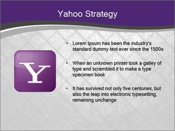 Metal grid PowerPoint Template - Slide 11