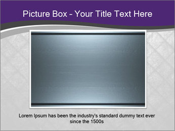 Metal grid PowerPoint Template - Slide 16