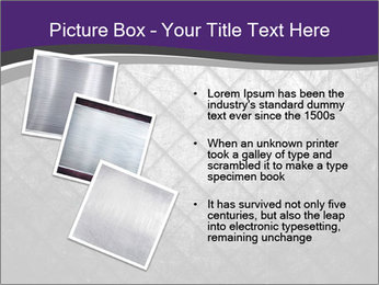 Metal grid PowerPoint Template - Slide 17