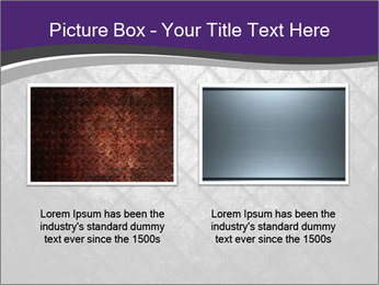 Metal grid PowerPoint Template - Slide 18