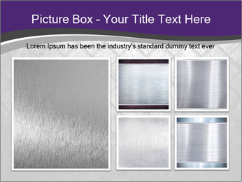 Metal grid PowerPoint Template - Slide 19