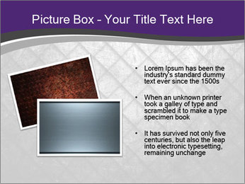 Metal grid PowerPoint Template - Slide 20