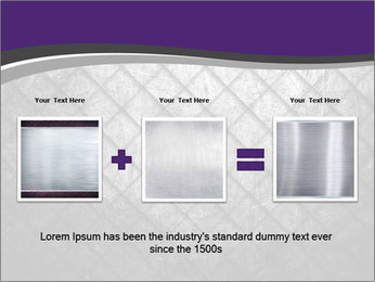 Metal grid PowerPoint Template - Slide 22