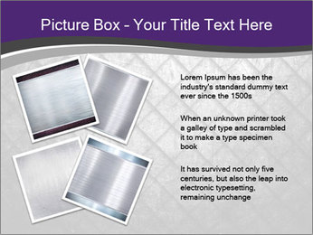 Metal grid PowerPoint Template - Slide 23