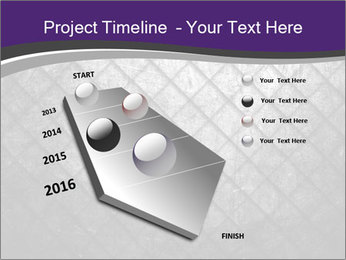 Metal grid PowerPoint Template - Slide 26