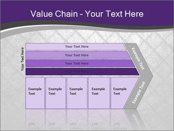 Metal grid PowerPoint Template - Slide 27