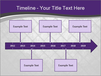 Metal grid PowerPoint Template - Slide 28