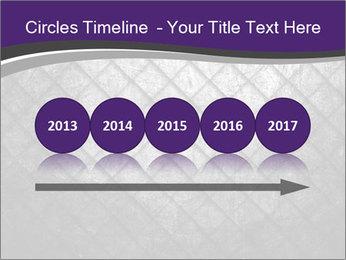 Metal grid PowerPoint Template - Slide 29