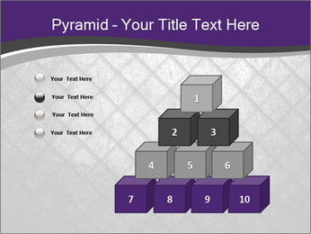 Metal grid PowerPoint Template - Slide 31