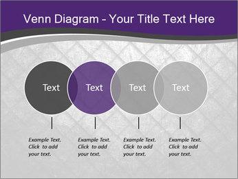 Metal grid PowerPoint Template - Slide 32