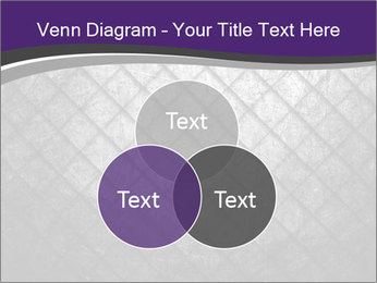 Metal grid PowerPoint Template - Slide 33