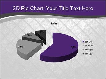 Metal grid PowerPoint Template - Slide 35