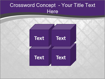 Metal grid PowerPoint Template - Slide 39