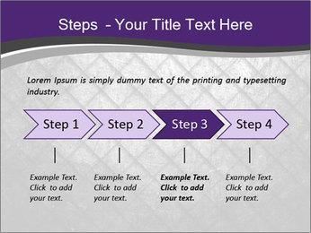 Metal grid PowerPoint Template - Slide 4