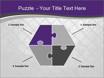 Metal grid PowerPoint Template - Slide 40