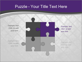 Metal grid PowerPoint Template - Slide 43