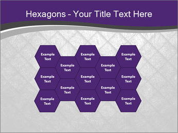 Metal grid PowerPoint Template - Slide 44