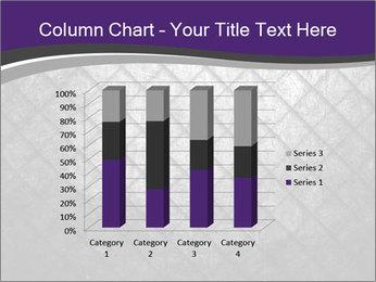 Metal grid PowerPoint Template - Slide 50