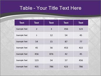 Metal grid PowerPoint Template - Slide 55