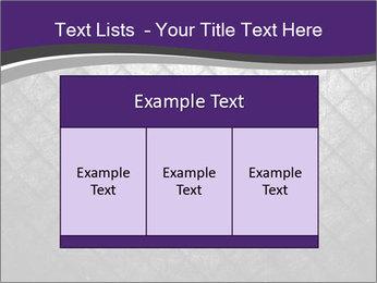 Metal grid PowerPoint Template - Slide 59