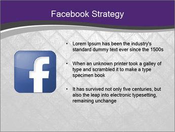 Metal grid PowerPoint Template - Slide 6