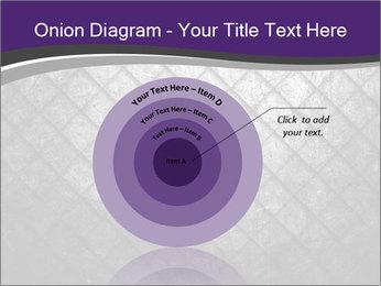 Metal grid PowerPoint Template - Slide 61