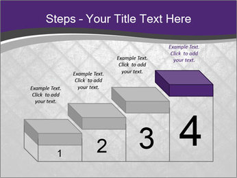 Metal grid PowerPoint Template - Slide 64